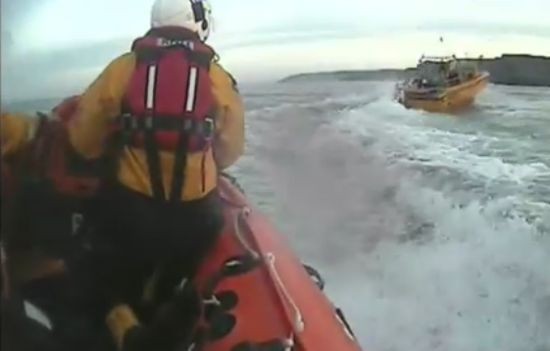 Awesome Rescue of The Fisherman and His Runaway Boat