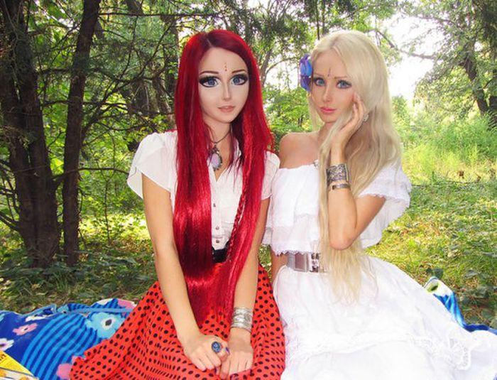 Mujeres que parecen Muñecas Barbie