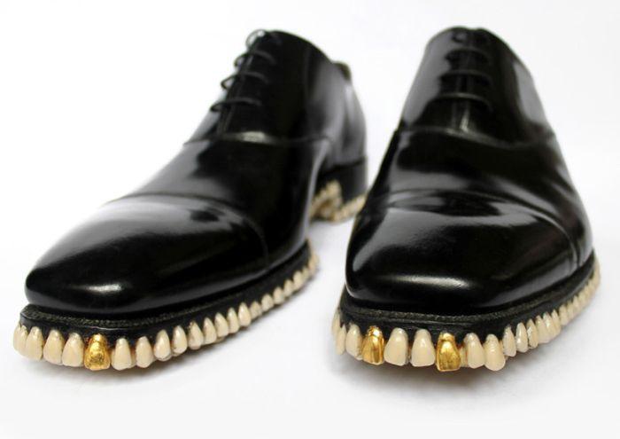 """Eat the Road"" Shoes (4 pics)"