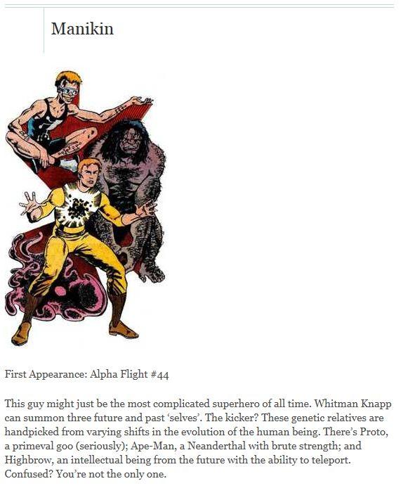 The Worst Superheroes (10 pics)