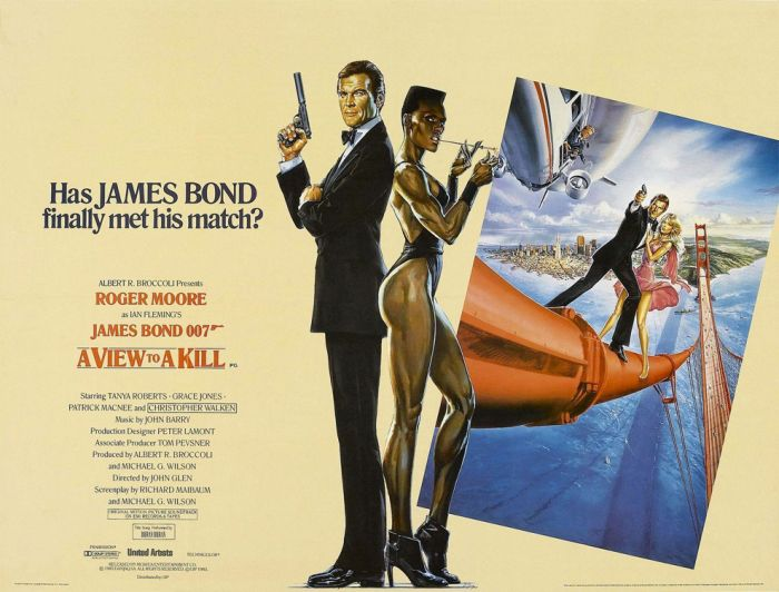 Complete Collection of  James Bond Posters (24 pics)