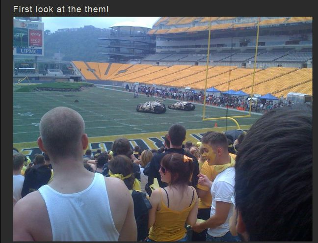 The Making of The Dark Knight Rises Stadium Scene (16 pics)