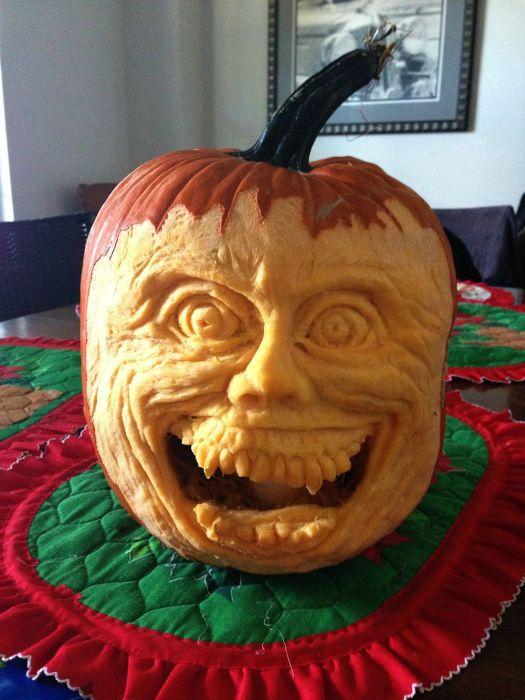 DIY Fright Night Pumpkin (28 pics)