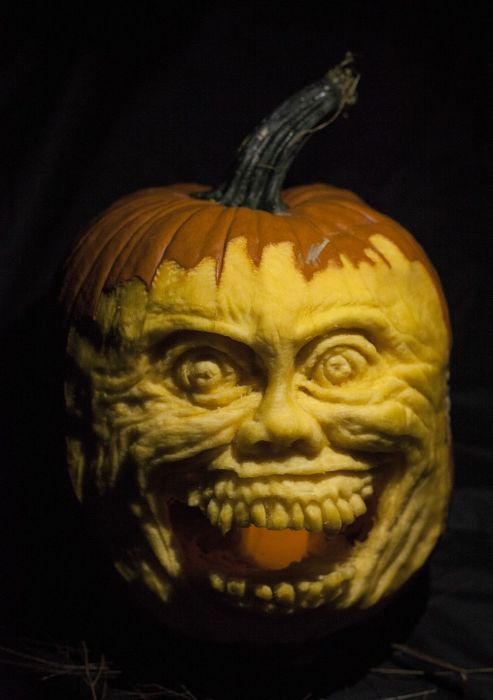 DIY Fright Night Pumpkin (28 pics)