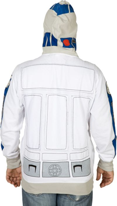R2-D2 Costume Hoodie (6 pics)
