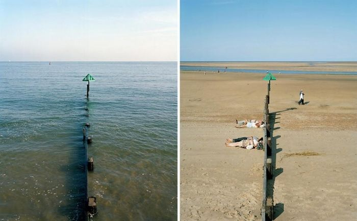 High Tide vs Low Tide (26 pics)