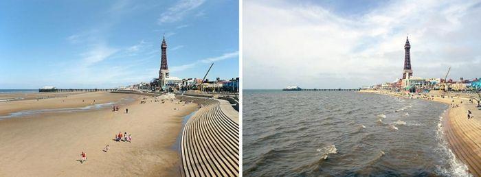 Espectaculares Fotografías marea alta y la marea baja.. en Taringa!