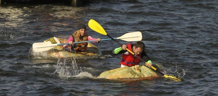 The Third Annual Pumpkin Regatta (11 pics)