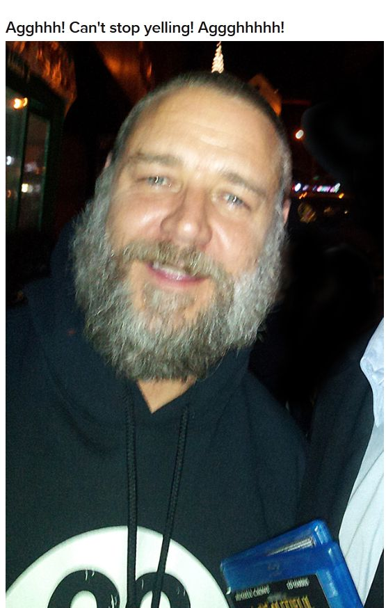 The Latest Pictures of Russell Crowe (5 pics)