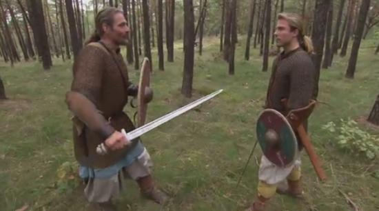 How the Real Life Vikings Fought with Swords