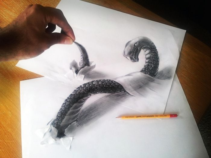 3D Pencil Drawings by Ramon Bruin (33 pics)