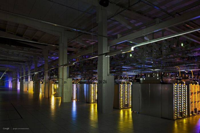 Google's Top-Secret Data Center (37 pics)