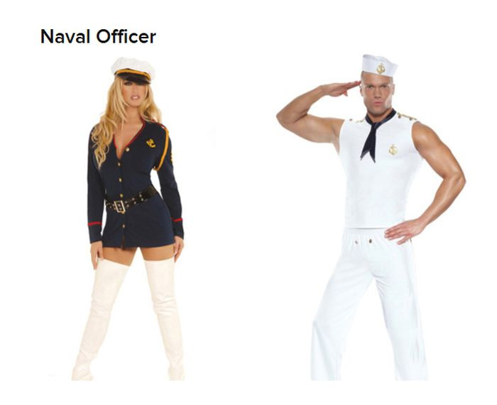 Straight Women vs Gay Guys Halloween Costumes (19 pics)