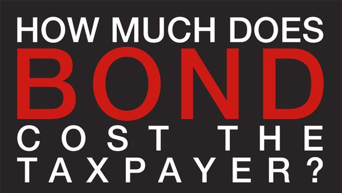 How Much Does James Bond Cost The Taxpayer? (infographic)