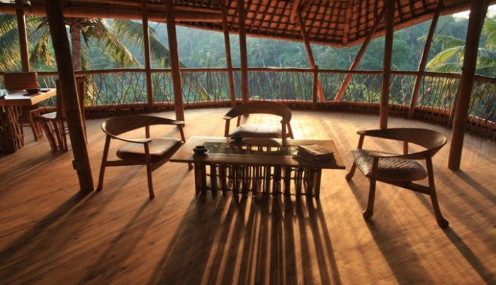 Bamboo House in Bali (15 pics)