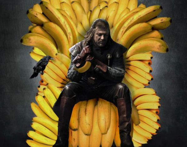 Swords Replaced With Bananas (24 pics)