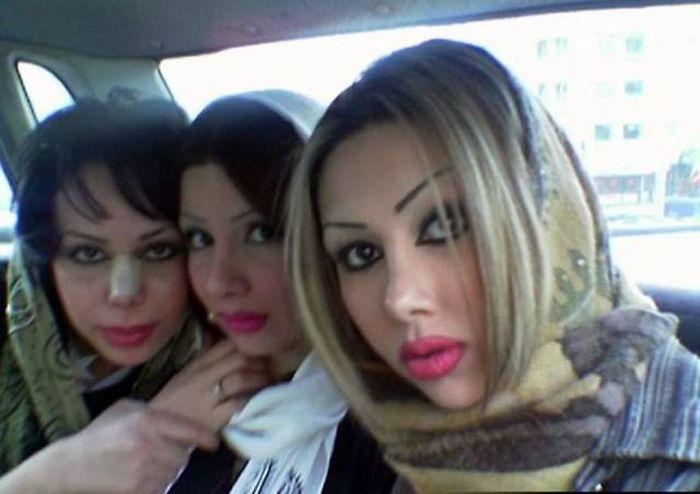 Iraníes, así son sus mujeres