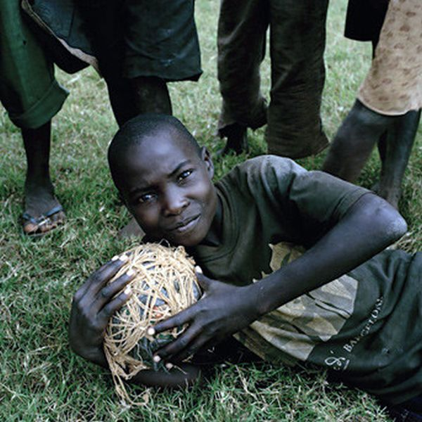 African Kids Love Soccer (22 pics)