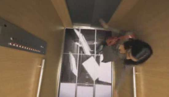 Awesome Fake Falling Elevator Prank