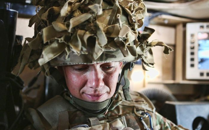 British Servicewomen in Afghanistan (23 pics)