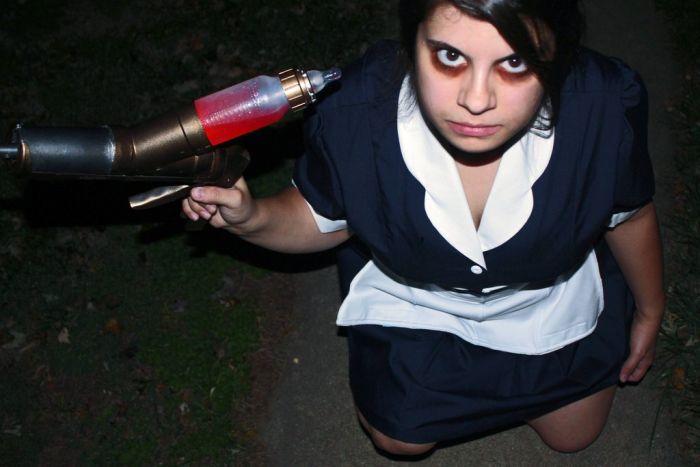 DIY Little Sister Halloween Costume (11 pics)