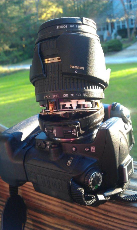 Broken Lens (4 pics)