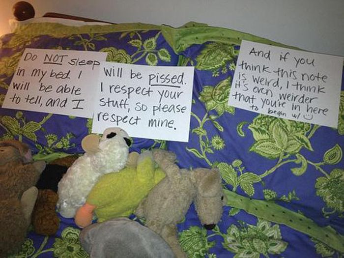 Why Roommates Suck (20 pics)