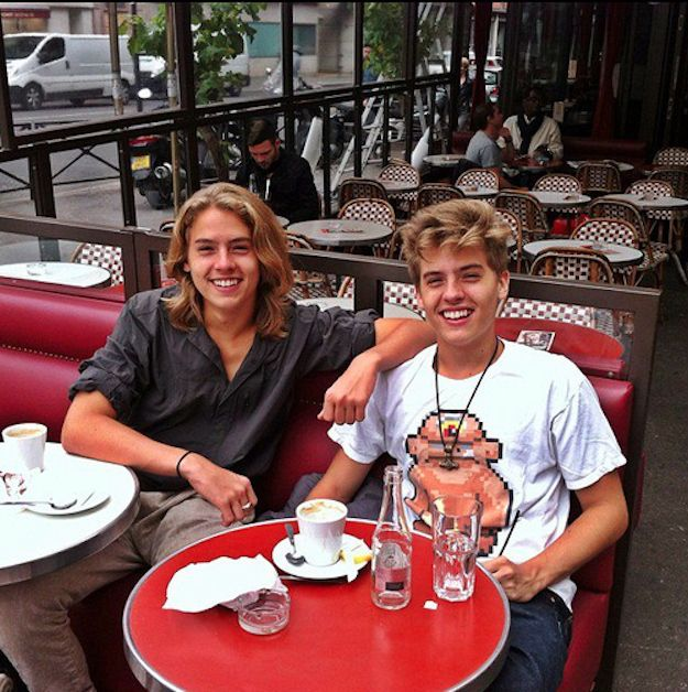The Sprouse Twins Then and Now (14 pics)