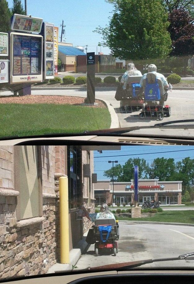 The Most Unusual Drive-Thru Customers (33 pics)