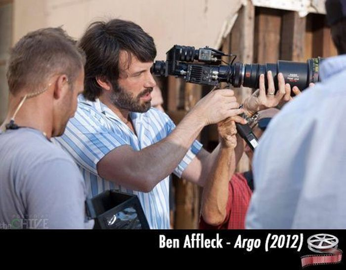 Great Directors on Sets of Famous Movies (20 pics)