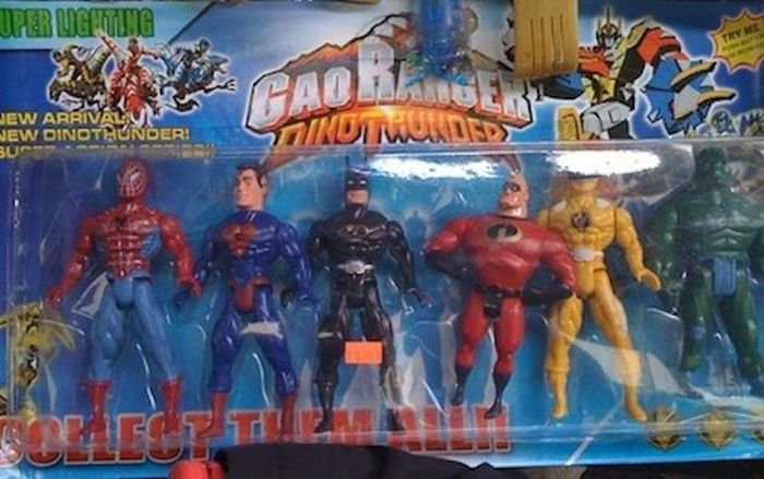 Knock off Toys (21 pics)