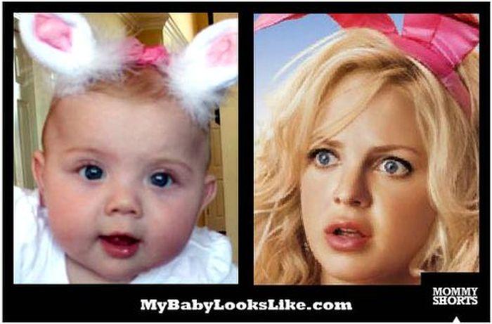 My Baby Looks Like (50 pics)