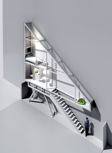 The Narrowest House in the World (28 pics)