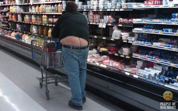 People of WalMart. Part 18 (55 pics)