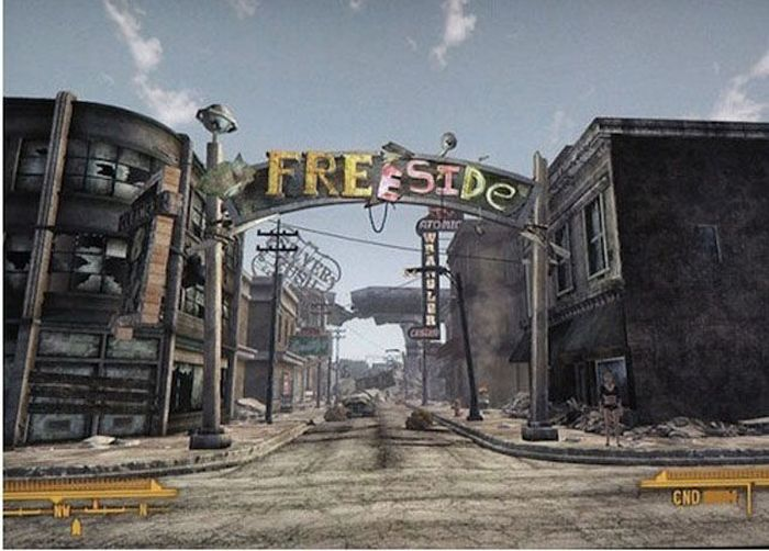 The Real Las Vegas vs Las Vegas in Fallout Video Game (21 pics)