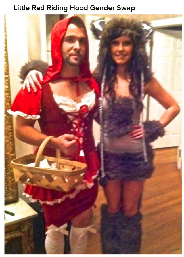 Creepy Couples Costumes (19 pics)