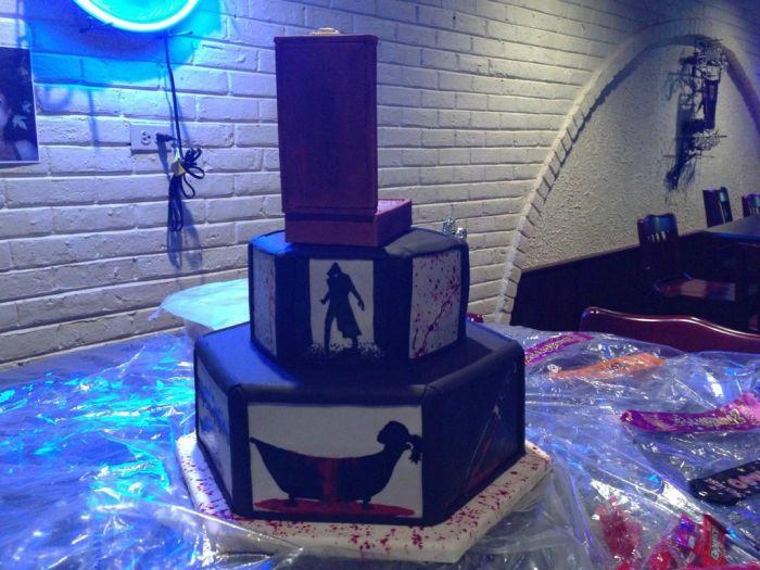 Dexter Cake (16 pics)
