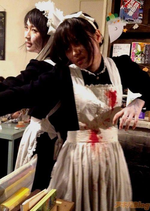 Tokyo Restaurant Ready for Halloween (19 pics)