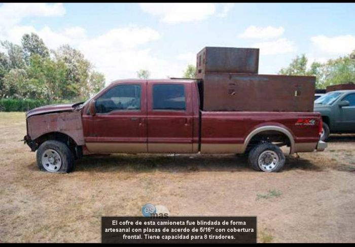 Narco Vehicles of Mexican Cartels (33 pics)