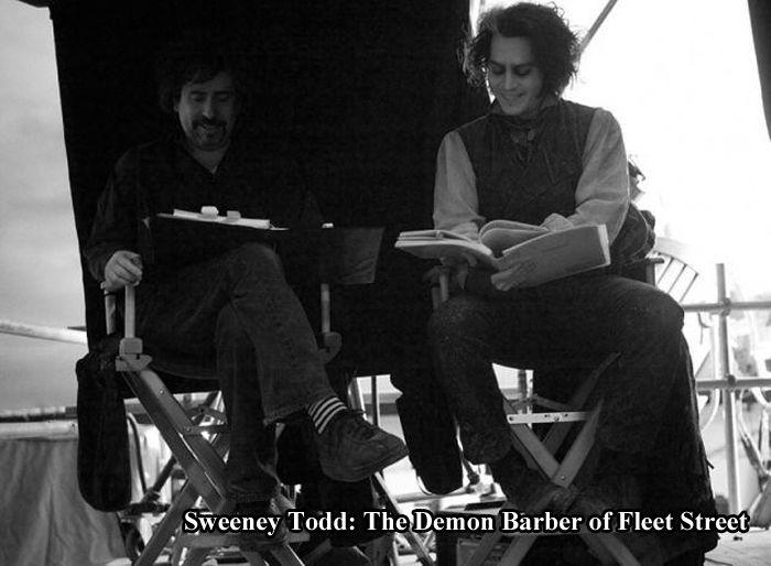 On the Set (24 pics)