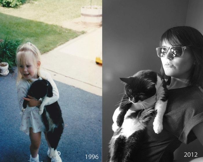Then and Now. Part 4 (10 pics)