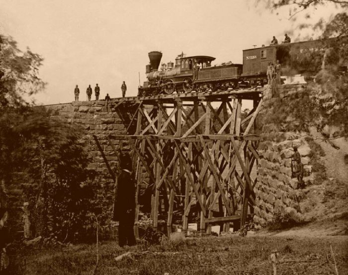US Railroads in the Past (59 pics)