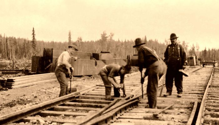 US Railroads in the Past (59 pics)