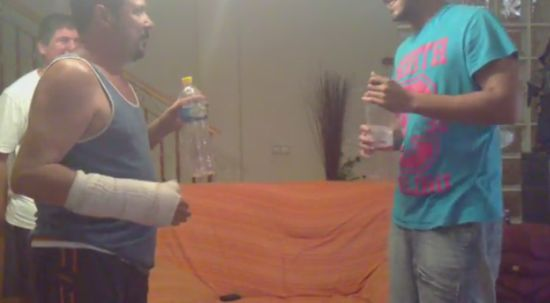 Hilarious Prank With Two Plastic Bottles