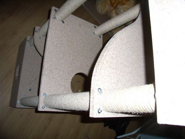 DIY Cat House (40 pics)