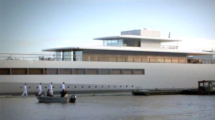 Steve Jobs' Yacht Venus (12 pics)