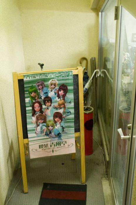 Anime Restaurant in Tokyo (40 pics)