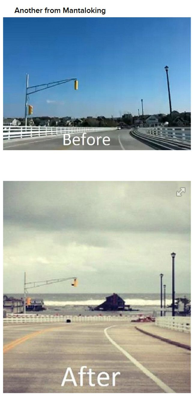 Before and After Hurricane Sandy (24 pics)