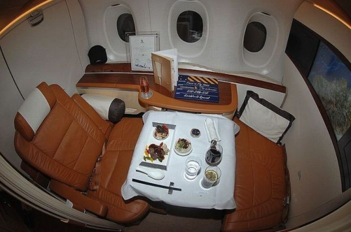 Expensive Plane Seats (8 pics)