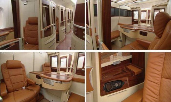 Expensive Plane Seats (8 pics)